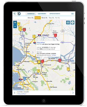 route planner software for field sales reps